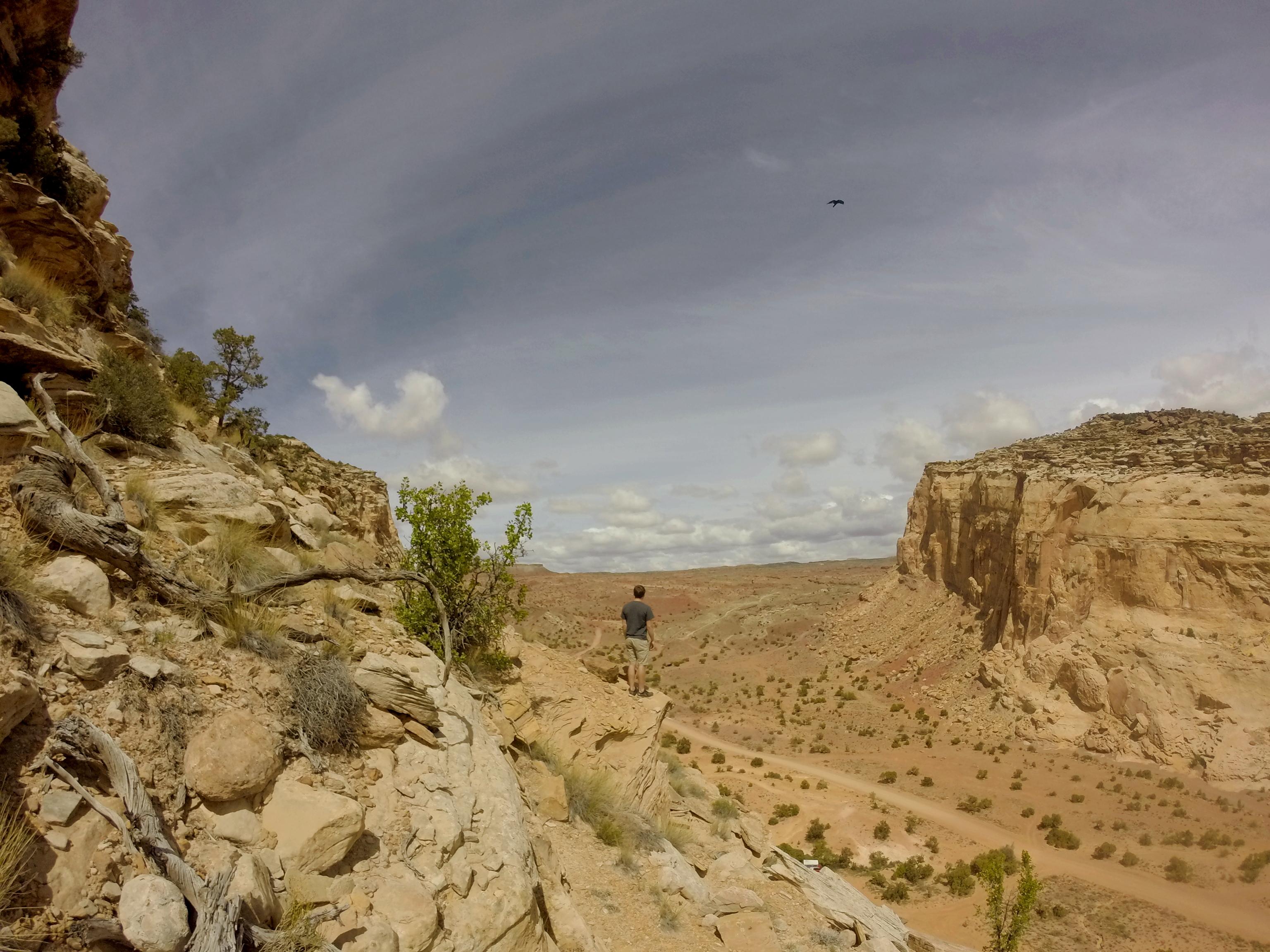 Overlook of BLM land near Goblin Valley